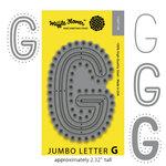 Waffle Flower Crafts - Craft Die - Jumbo Letter - G