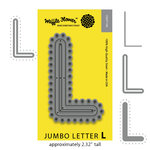 Waffle Flower Crafts - Craft Die - Jumbo Letter L