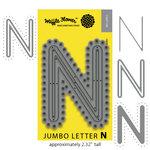 Waffle Flower Crafts - Craft Die - Jumbo Letter - N