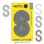 Waffle Flower Crafts - Craft Die - Jumbo Letter - S