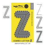 Waffle Flower Crafts - Craft Die - Jumbo Letter - Z