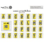 Waffle Flower Crafts - Craft Die - Jumbo Letters A-Z Set