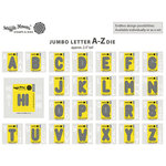 Waffle Flower Crafts - Craft Die - Jumbo Letter - A-Z Set