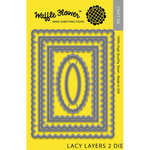 Waffle Flower Crafts - Craft Die - Lacy Layers 2