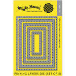Waffle Flower Crafts - Craft Die - Pinking Layers