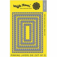 Waffle Flower Crafts - Craft Die - Pinking Layers