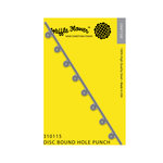 Waffle Flower Crafts - Planner Collection - Craft Die - Disc Bound Hole Punch