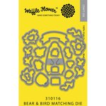 Waffle Flower Crafts - Matching Die - Bear and Bird