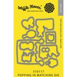 Waffle Flower Crafts - Matching Die - Popping In
