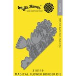 Waffle Flower Crafts - Border Die - Magical Flower