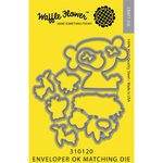 Waffle Flower Crafts - Craft Die - Enveloper OK Matching Die