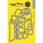 Waffle Flower Crafts - Matching Die - Stay Cool