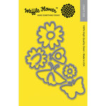 Waffle Flower Crafts - Matching Die - Pretty Wings
