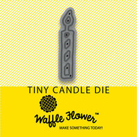 Waffle Flower Crafts - Craft Die - Tiny Candle