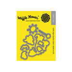 Waffle Flower Crafts - Matching Die - Boo