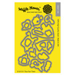 Waffle Flower Crafts - Matching Die - Tea for Two