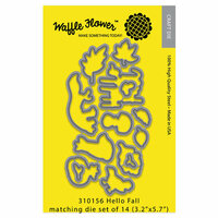 Waffle Flower Crafts - Matching Die - Hello Fall
