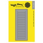 Waffle Flower Crafts - Craft Die - A2 Window Shutters