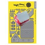 Waffle Flower Crafts - Craft Die - Pop-up House Die
