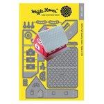 Waffle Flower Crafts - Craft Die - Pop-up House Die