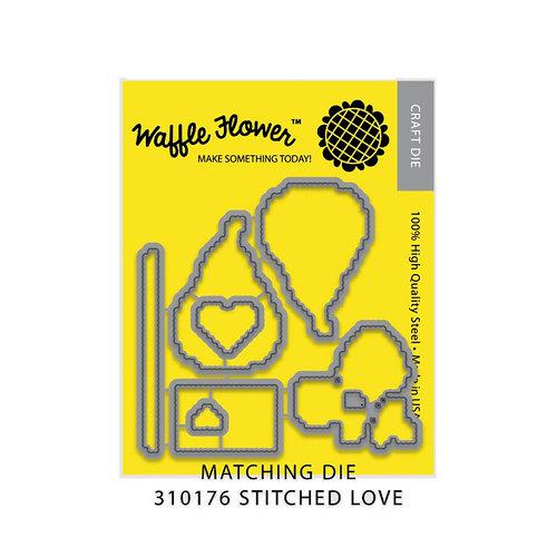 Waffle Flower Crafts - Craft Die - Stitched Love