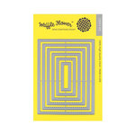 Waffle Flower Crafts - Craft Die - A2 Nesting Rectangles 2
