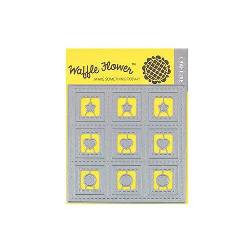 Waffle Flower Crafts - Craft Die - 9 Grids