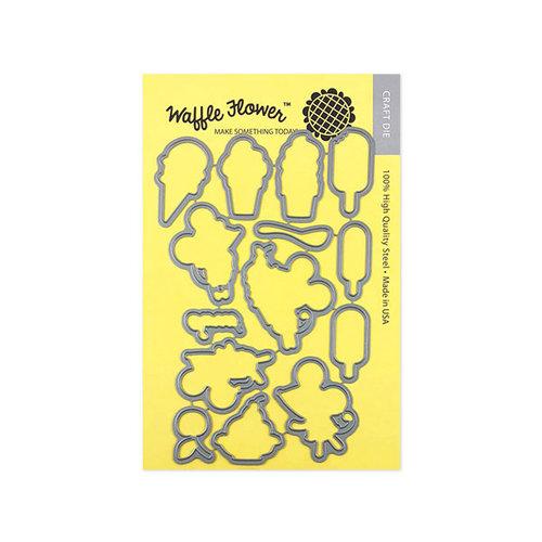 Waffle Flower Crafts - Matching Die - Sweet Ice Cream