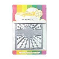 Waffle Flower Crafts - Craft Die - Sun Shine Panel