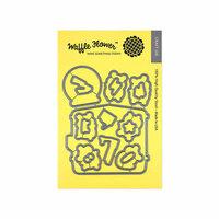 Waffle Flower Crafts - Matching Die - Gym Rat