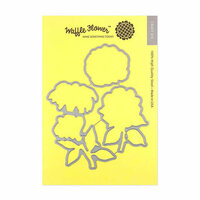 Waffle Flower Crafts - Matching Die - Bouquet Builder 2