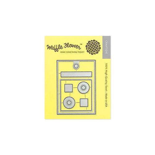 Waffle Flower Crafts - Craft Die - Swatch Tag
