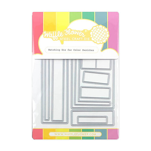 Waffle Flower Crafts - Matching Die - Color Swatches
