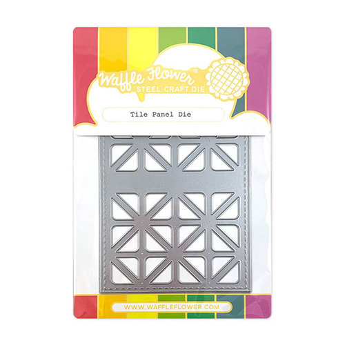 Waffle Flower Crafts - Craft Die - Tile Panel