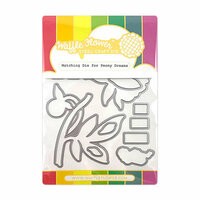 Waffle Flower Crafts - Matching Die - Peony Dreams