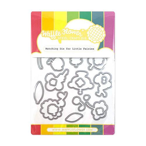 Waffle Flower Crafts - Matching Die - Little Fairies