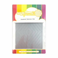 Waffle Flower Crafts - Craft Die - Diamond Texture