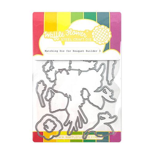 Waffle Flower Crafts - Matching Die - Bouquet Builder 3