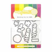 Waffle Flower Crafts - Matching Die - XOXO