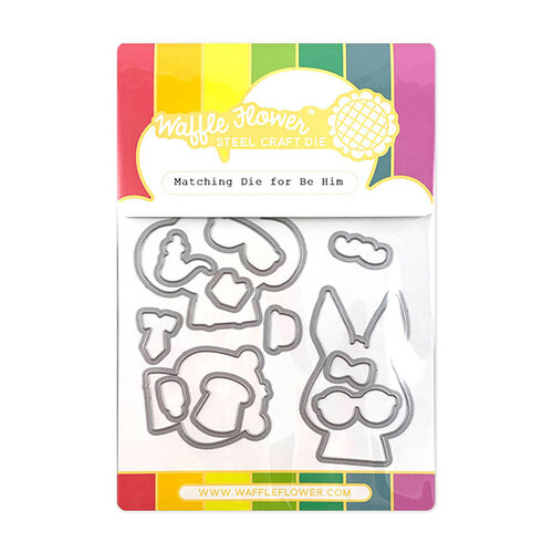 Waffle Flower Crafts - Matching Die - Be Him