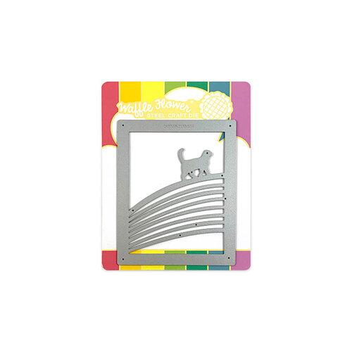 Waffle Flower Crafts - Craft Die - Rainbow Bridge Cat