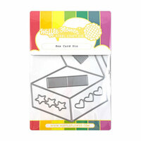 Waffle Flower Crafts - Craft Die - Box Card