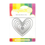 Waffle Flower Crafts - Craft Die - Nesting Hearts