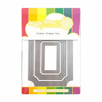Waffle Flower Crafts - Craft Die - Ticket Frames