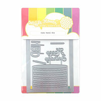 Waffle Flower Crafts - Craft Die - Cake Panel