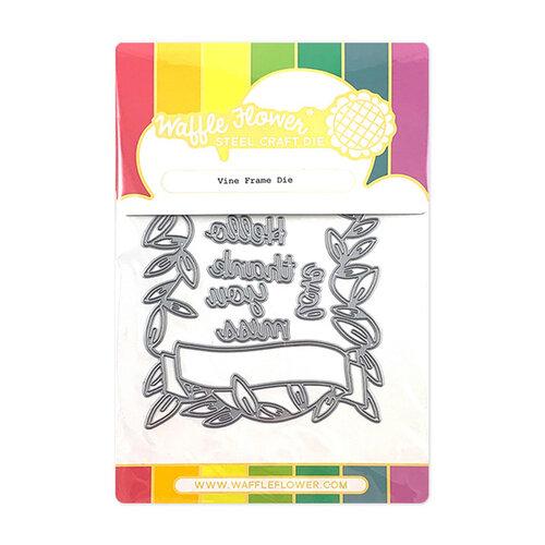 Waffle Flower Crafts - Craft Die - Vine Frame