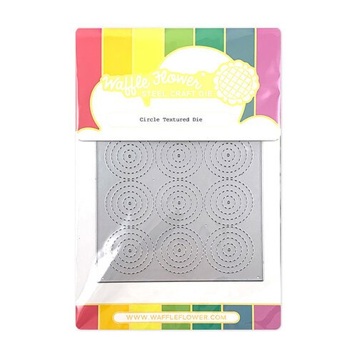 Waffle Flower Crafts - Craft Die - Circle Texture
