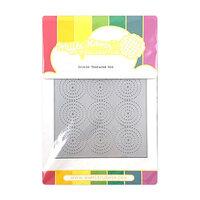 Waffle Flower Crafts - Craft Die - Circle Texture
