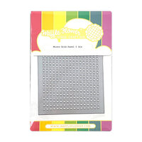 Waffle Flower Crafts - Craft Die - Micro Grid Panel 1