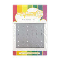 Waffle Flower Crafts - Craft Die - Micro Grid Panel 2